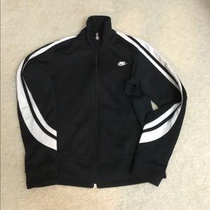 Zip up track jacket